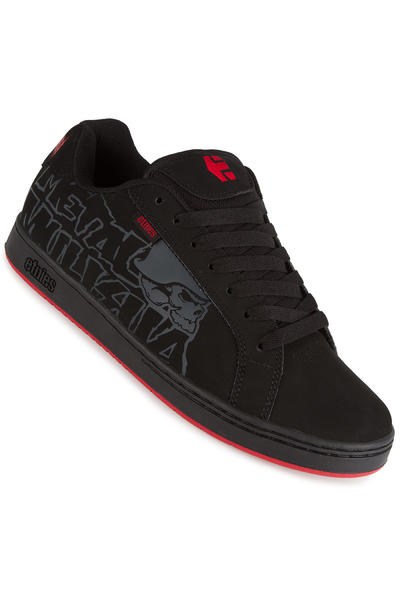 Etnies Metal Mulisha Fader Schuh (black black red)