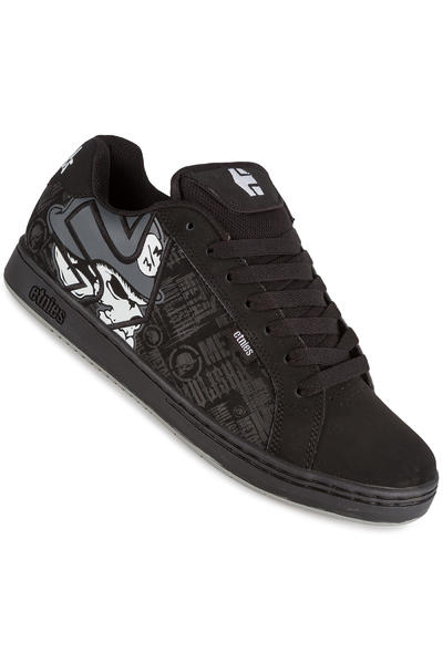 Etnies Metal Mulisha Fader Shoe (black skulls)