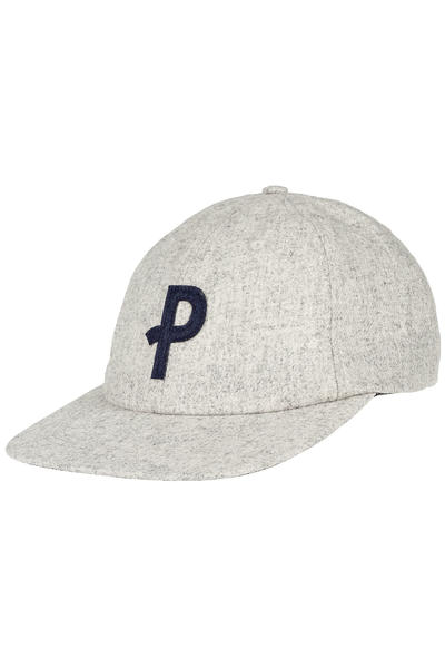 Polar Skateboards Baseball 6 Panel Cap (heather grey)