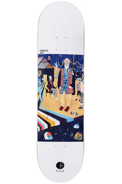 "Polar Skateboards Alv AMTK Nothing's Changed 8.125"" Deck"