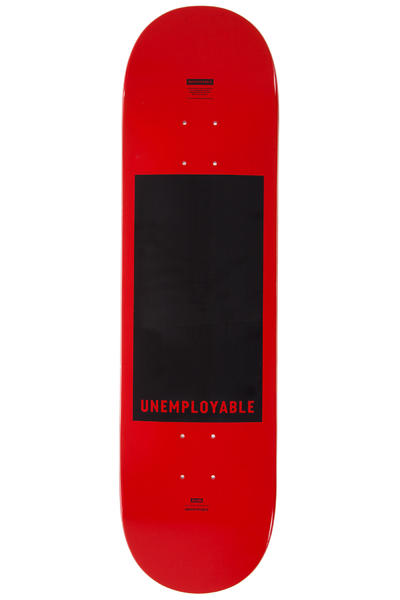 "Globe Unemployable 8.25"" Deck (red)"