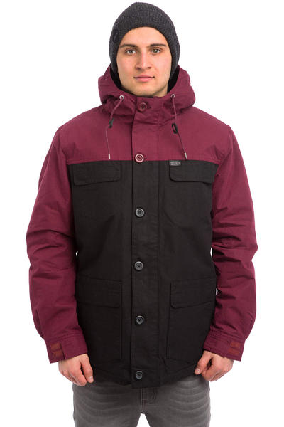 Globe Goodstock Blocked Parka Jacket (black)