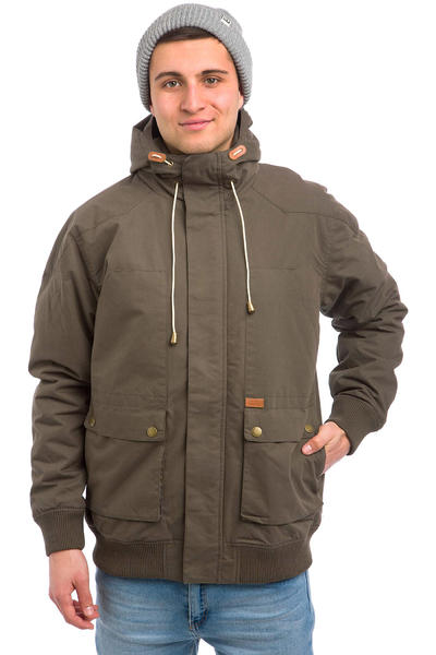 Globe Inkerman Jacket (dark olive)