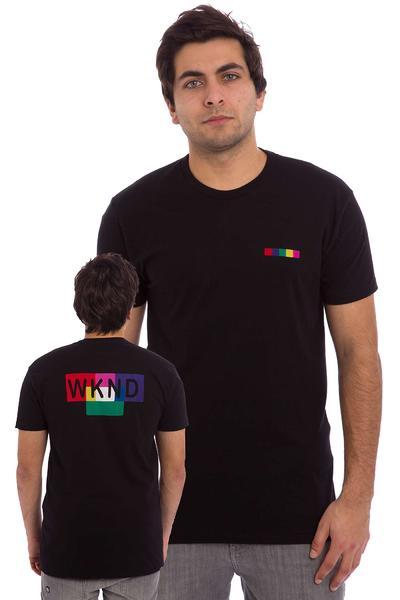 WKND Color Block T-Shirt (black)
