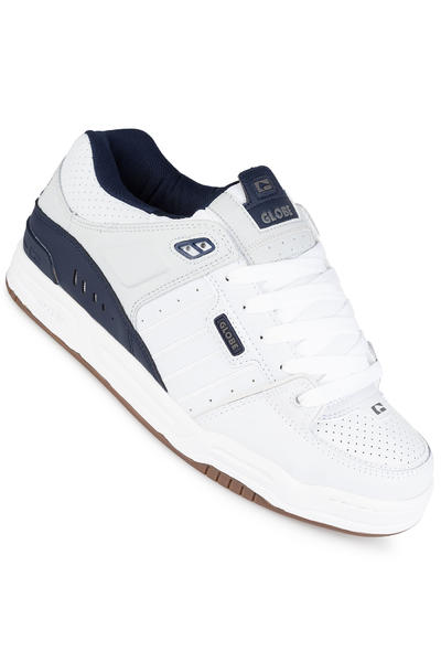 Globe Fusion Chaussure (white navy grey)