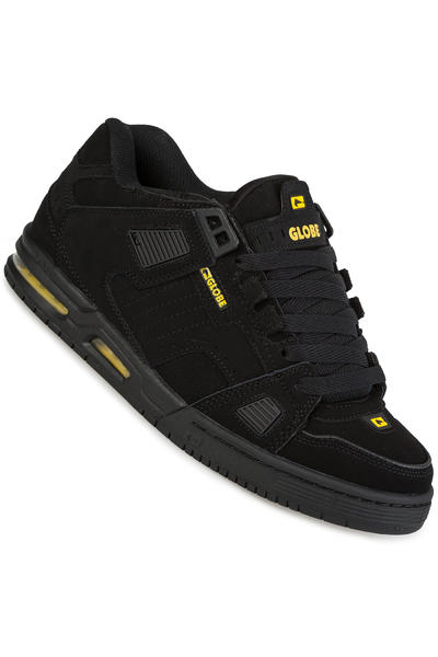 Globe Sabre Chaussure (black black yellow)
