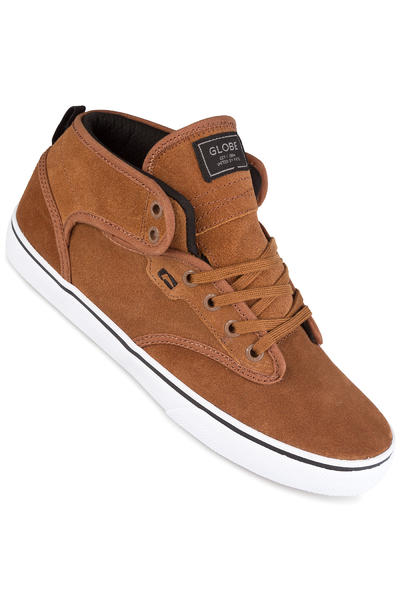 Globe Motley Mid Schuh (toffee white)