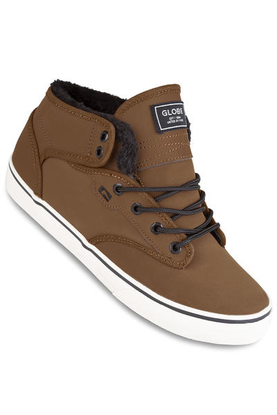 Globe Motley Mid Schuh (toffee antique fur)