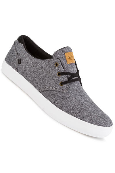 Globe Willow Schuh (black chambray white)
