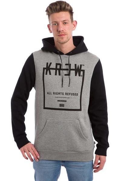 KR3W Squared Hoodie (grey heather black)