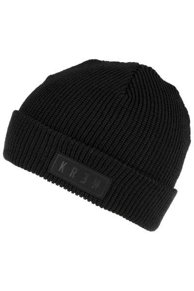 KR3W Cuff Beanie (black)