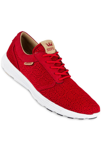 Supra Hammer Run Shoe (red tan white)