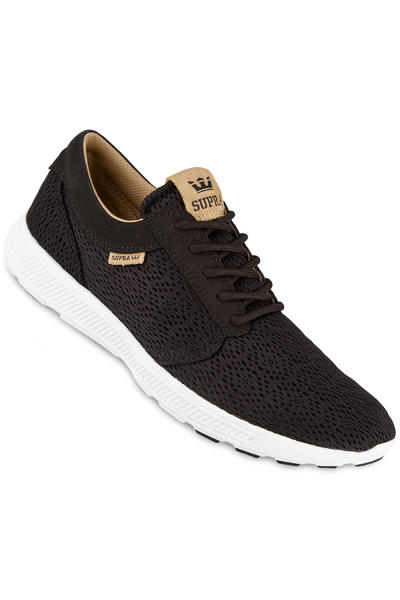 Supra Hammer Run Schuh (black tan white)