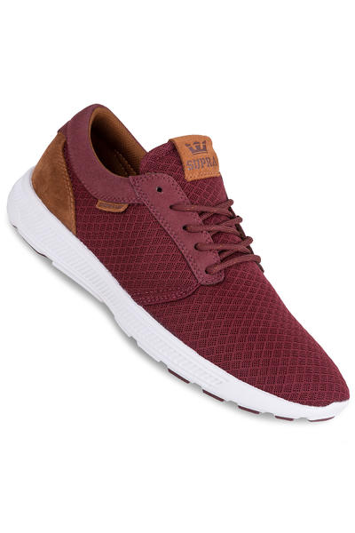 Supra Hammer Run Schuh (burgundy brown white)