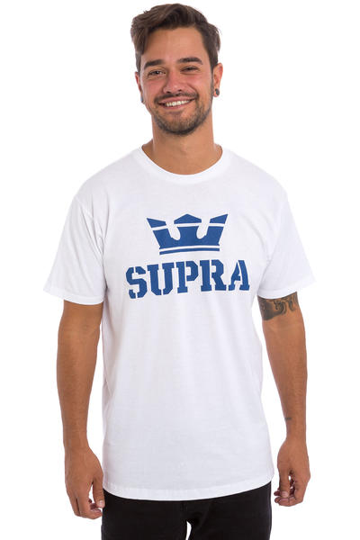 Supra Above T-Shirt (white navy)