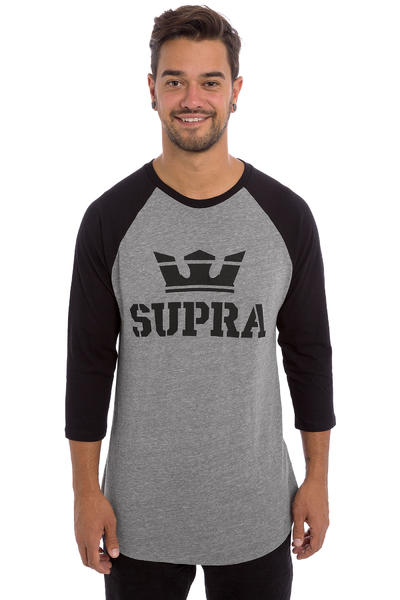 Supra Above Longsleeve (grey heather black)