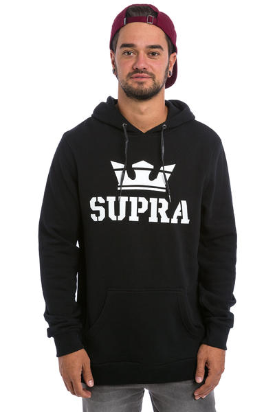Supra Above Hoodie (black white)