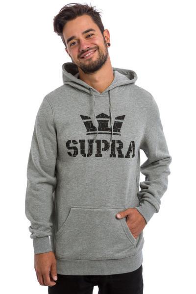 Supra Above Hoodie (grey heather black)