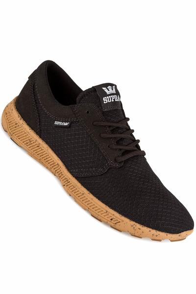 Supra Hammer Run Shoe (black gum)