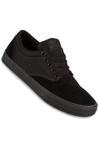 Supra Chino Shoe (black black black)