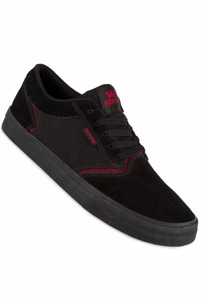 Supra Shredder Shoe (black red black)