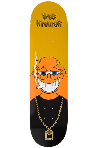 "Sk8Mafia Kremer Spun 8.25"" Planche Skate (orange black)"