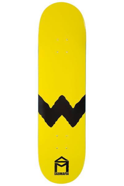 "Sk8Mafia Kremer The W 8.25"" Planche Skate (yellow)"