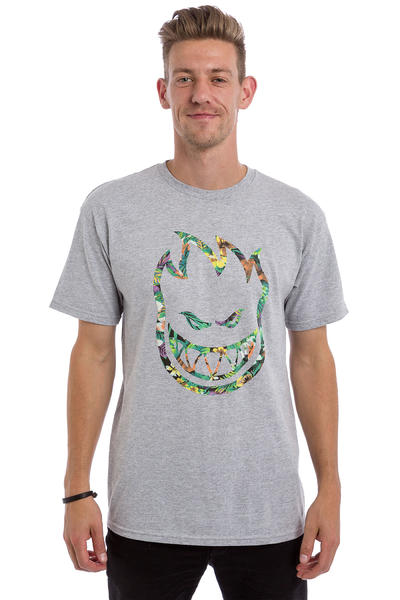 Spitfire Bighead Floral Fill T-Shirt (athletic heather)