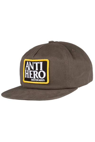 Anti Hero Reserve Patch Snapback Cap (brown)
