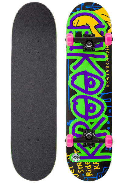 "Krooked Eyes Krasher 8"" Complete-Board (multi)"