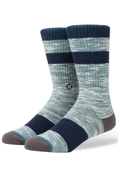 Stance Mission Socks (aqua)