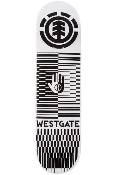 "Element Westgate Optical Helium 8"" Deck (white black)"