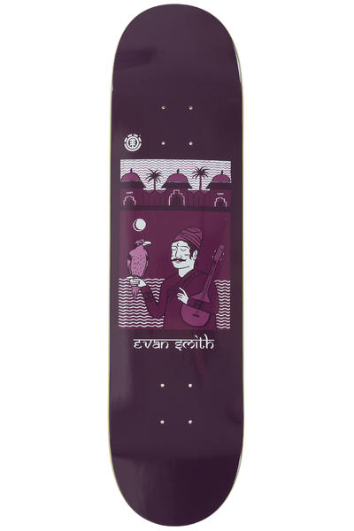 "Element Evan Sanskrit 8"" Deck (bordeaux)"