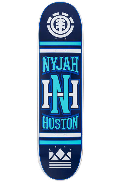 "Element Nyjah Monogram 8"" Deck (blue)"