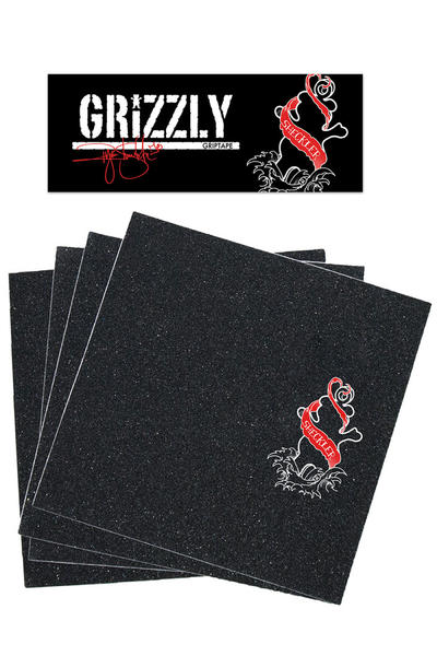 Grizzly Sheckler Inked Griptape (black)