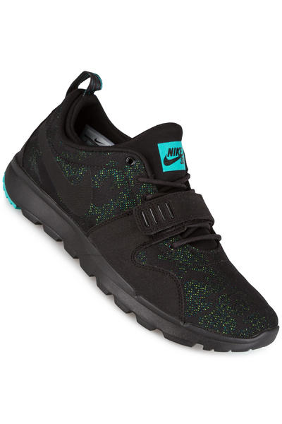 Nike SB Trainerendor Shoe (black clear jade)