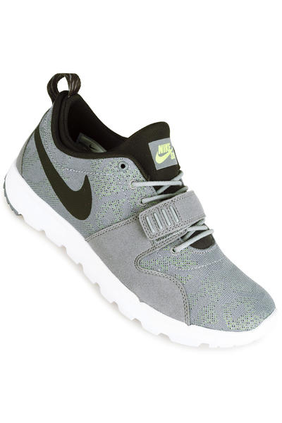 Nike SB Trainerendor Shoe (cool grey black volt)