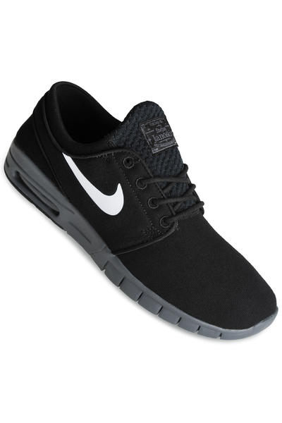 Nike SB Stefan Janoski Max Shoe (black white dark grey)