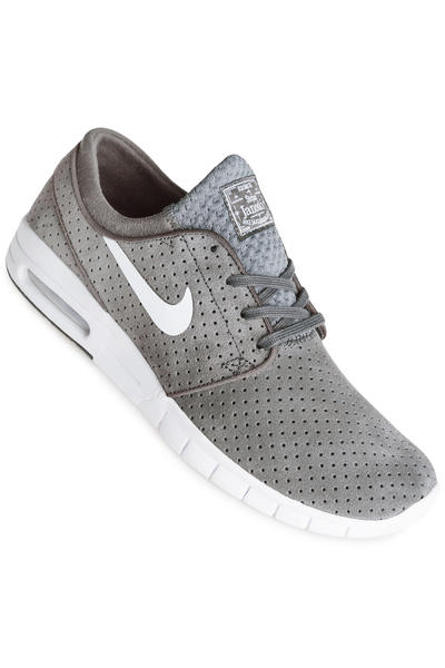 Nike SB Stefan Janoski Max Suede Schuh (dark grey white)