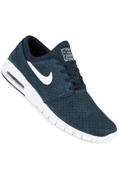 Nike SB Stefan Janoski Max Suede Chaussure (obsidian white)