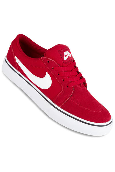 Nike SB Satire II Schuh kids (gym red white)