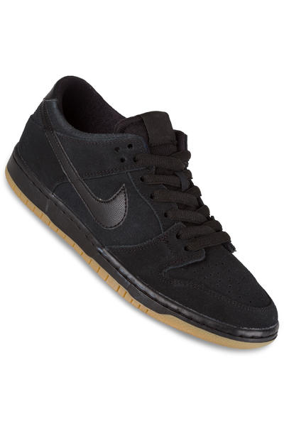 Nike SB Dunk Low Pro Ishod Wair Schuh (black black gum)
