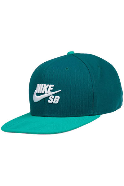 Nike SB Icon Snapback Cap (midnight turquoise teal)