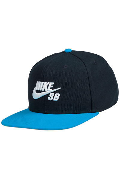 Nike SB Icon Snapback Cap (dark obsidian photo blue)