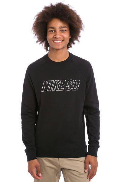 Nike SB Everett Reveal Sweatshirt (black white)