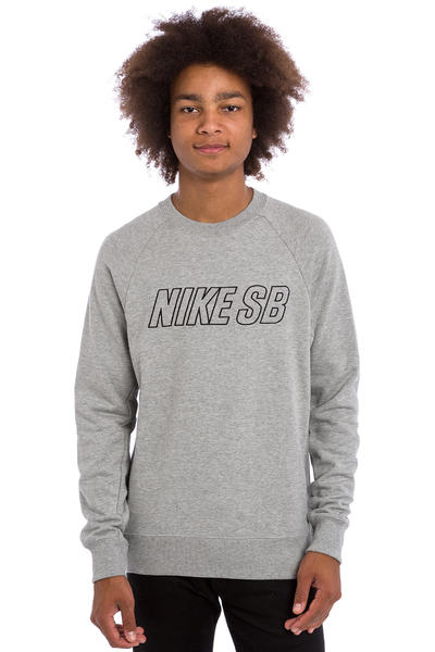 Nike SB Everett Reveal Sweatshirt (dark grey heather)