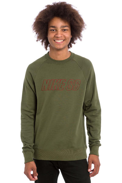 Nike SB Everett Reveal Sweatshirt (cargo khaki)