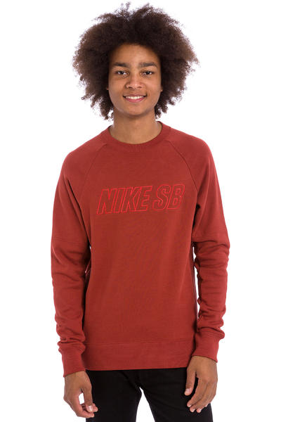 Nike SB Everett Reveal Sweatshirt (dark cayenne)