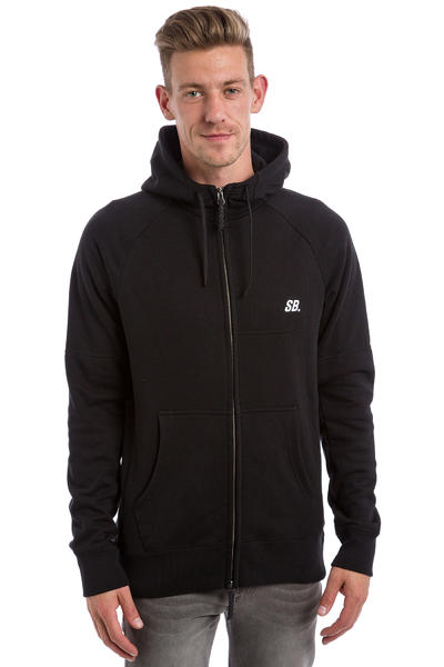 Nike SB Everett Graphic Full Zip-Hoodie (black white)