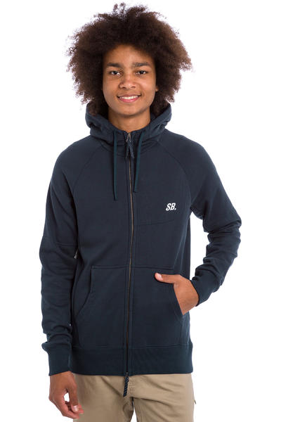 Nike SB Everett Graphic Full Zip-Hoodie (obsidian)